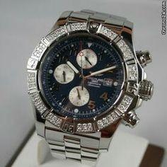 Breitling Super Avenger Diamonds Blue