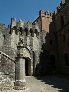 Toscana Castello di Brolio