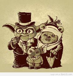 Yoda + Ewok = Gremlin...dear god.