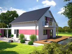 Esprit 125 von Bärenhaus ➤ Alle Häuser unter: https://www.fertighaus.de/haeuser/suche/ Fertighaus, Einfamilienhaus, Fertigteilhaus, Eigenheim, Fertigbau