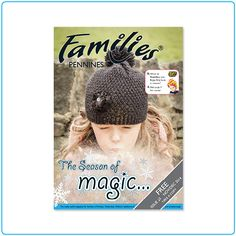 Families Pennines – magazine design – graphic design – Designed by Tree
