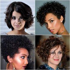 Vai mudar o visual? Vai fazer big chop? Então confira os mais lindos cortes para cabelos curtos crespos e cacheados de todos os tempos e se inspire.