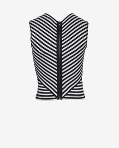 L'Agence Square Neckline Sleeveless Top | Shop IntermixOnline.com