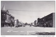 RP; Main Street East, Grundy Center, Iowa, PU-1954