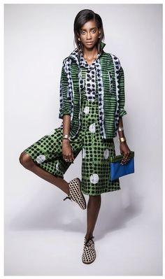 """African Prints in Fashion: Ethical Fashion Initiative: """"Don't copy others - tell your own story"""""""