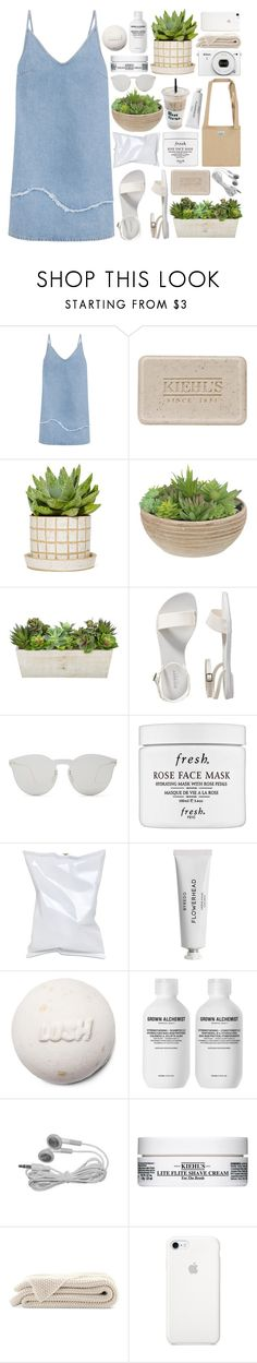 """take a breath and listen // #226"" by jar-of-hearts-xx ❤ liked on Polyvore featuring M.i.h Jeans, Kiehl's, Old Navy, Illesteva, Fresh, Anya Hindmarch, Byredo, Grown Alchemist and Nikon"