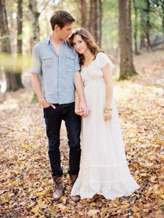 pretty engagement session