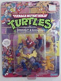 Playmates 1990 – Wingnut and Screwloose « MutantOoze.org: Teenage Mutant Ninja Turtles