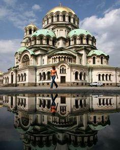 Alexander Nevski cathedral in Sofia. Bulgaria