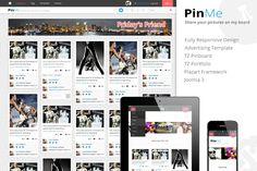 PinMe - Responsive Joomla Template by templaza on @creativework247