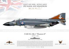 "F-4K ""Phantom II"" 006 XT871 Royal Navy JP-1333"