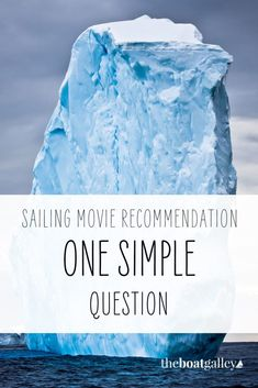 Here's a great sailing movie. It will give you food for thought. #TheBoatGalley #cruising