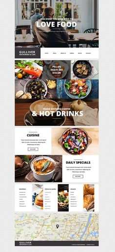 The theme is a great choice for modern cafe and restaurant owners. Slider shows the images of restaurant environments, so that the website visitor could sense the atmosphere of the enterprise. Main...