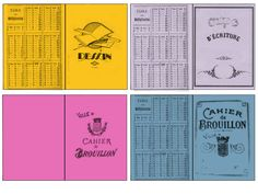 cahiers_divers Love Scrapbook, Scrapbook Designs, Scrapbook Cards, Minis, Vitrine Miniature, Cardboard Crafts, Printable Paper, Paper Toys, Jouer