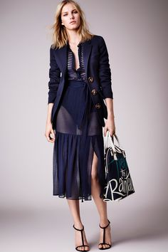 A favourite - Burberry pre-spring/summer 2015 fashion collection