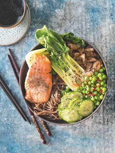 Maso, příloha a pořádná porce zeleniny – vše pěkně pohromadě v jedné misce.