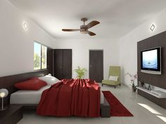 Bedroom at Aster Court apartments, New Gurgaon Real Estate Development, Aster, Modern Architecture, Luxury, Dream Homes, Apartments, Bedrooms, Interiors, Furniture