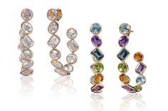 #Goshwara hoop earrings to brighten your wardrobe.