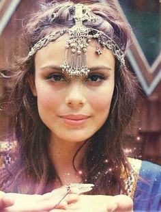 Love these exotic and intricate headpieces. They dress up every simple outfit and have a gypsy feel to them.