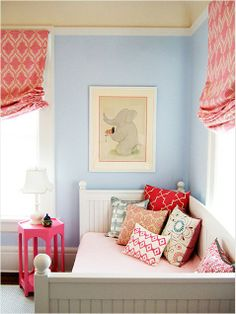 Lovely! How to go from baby to big girl room via ivillage #home #decor