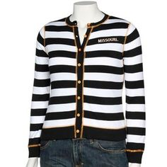 Cardigans are so hot right now... especially when they're Mizzou black & gold.