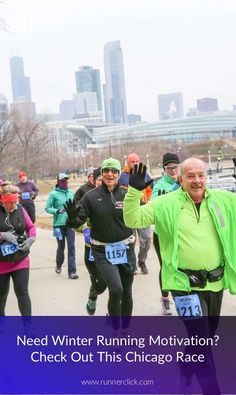 Fitness Motivation : Need a Little Winter Motivation? Check out the  F^3 Lake Half Marathon in Chicag... #Motivation