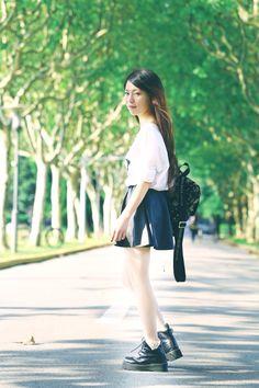 《夏尾》-学生时代的样子还是最-崔不弯君