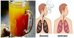 SİGARA İÇEN HERKES BU YAZIYI MUTLAKA OKUSUN. Bu içecek akciğerleri temizliyor!   Bitkilog