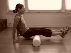 How to Get the Benefits of a Sports Massage at Home: Foam Roller Exercise for Glutes and Hamstrings