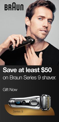 Give him the world's most efficient shave with a Braun Series 9 shaver. Tap the Pin to learn more and shop now! Best Electric Razor, Best Electric Shaver, Electric Razors, Beard Quotes, Foil Shaver, Gifts For Teen Boys, Buy Used Cars, Male Grooming, Christmas Gifts For Men