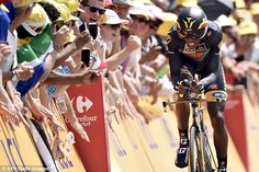 Dennis wins Tour de France first stage as Nibali edges ahead of Froome #dailymail