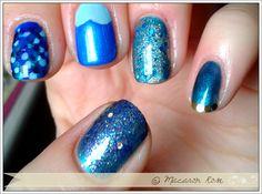 Nail art :Mermaid nails my way