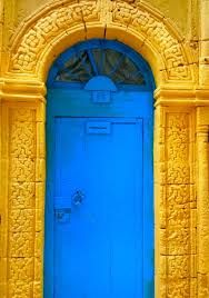 doors blue