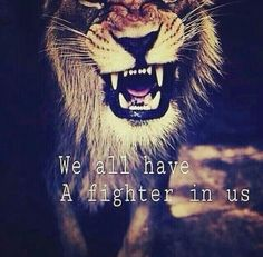 We MSers all have A fighter in us! Keep using it & stay Positive!
