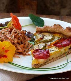 grain de sel - salzkorn: Zucchini-Tarte für Zucchini-Verweigerer