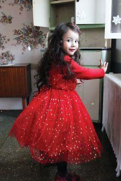 Star Lace Princess Dress