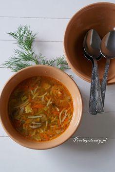 Proste Potrawy: Chińska zupa domowa