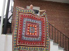 Ravelry: Wendy Blanket pattern by Sweet Apple Designs Crochet Fish, Crochet Quilt, Manta Crochet, Afghan Crochet Patterns, Crochet Squares, Granny Squares, Blanket Shawl, Crochet Afgans, Crochet Instructions