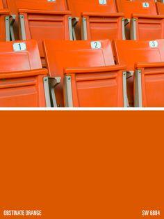 Shades Of Orange Paint sherwin-williams orange paint color – sunset (sw 6626) | color