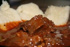 20 Min, Meatloaf, Mashed Potatoes, Food And Drink, Beef, Ethnic Recipes, Red Peppers, Whipped Potatoes, Meat