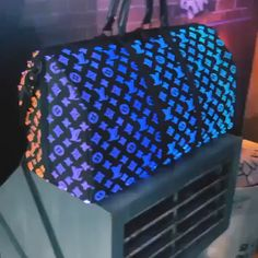 Louis Vuitton glow in the dark bag - Gucci Backpack - Ideas of Gucci Backpack - ριntєrєѕt: үαsмιη к.ღ vsco:theyasmindoll Luxury Purses, Luxury Bags, Luxury Handbags, Vuitton Bag, Louis Vuitton Handbags, Purses And Handbags, Fashion Mode, Fashion Bags, Zapatillas Louis Vuitton
