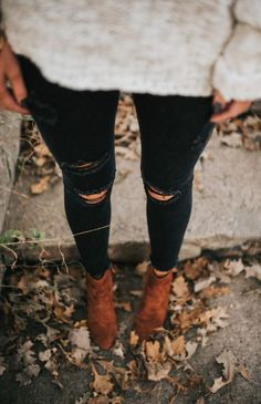 #winter #fashion / booties
