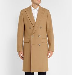 AMIDouble-Breasted Wool Overcoat - Leave it to Alexandre Mattiussi to create the perfect camel coat