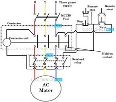 Star Delta (Y-Δ) Starter For Automatic 3-Phase Motor
