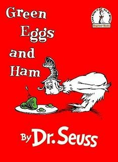 Dr Seuss....love him & his fabulous stories.   My favorite....I think, to hard to have just one.