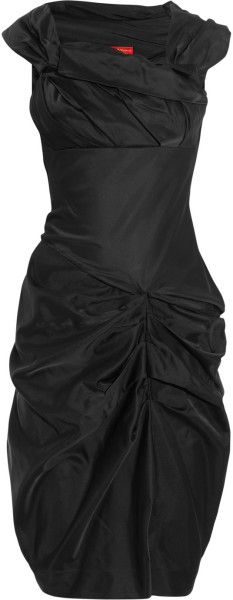 Vivienne Westwood Red Label Black Duchessesatin Dress | The House of Beccaria~