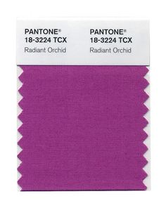 Pantone's 2014 Color Of The Year: Radiant Orchid 18-3224 - Sensational Color #coty #coloroftheyear #pantone