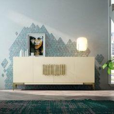 Aparadores de Diseño © Modernos y Clásicos【 100% CALIDAD 】 Modern Furniture Online, Room Decor, Christmas, Credenzas, Blinds, Multifunctional Furniture, Modern Lounge, Cozy, Bedroom