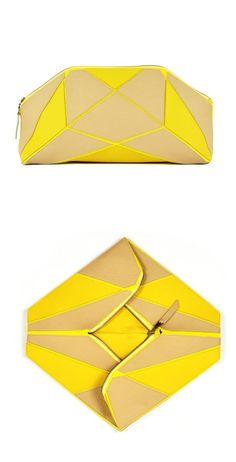 Origami Clutch #bagspurses - bags, bolsa, chloe, mochila, ysl, bolsa bag *ad