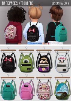 have been out there but I thought they were ADORABLE so I am adding! Created BY: Descargas Sims! This is cool website as well! Toddler Cc Sims 4, Sims 4 Toddler Clothes, Sims 4 Cc Kids Clothing, Sims 4 Mods Clothes, Toddler Outfits, Toddler Girls, Sims Four, The Sims 4 Pc, Sims Cc